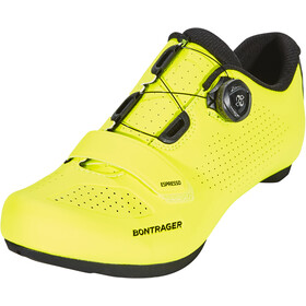 Bontrager Espresso Road Shoes Herre flourescent yellow
